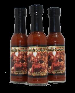 Chocolate Scorpion Shock Hot Sauce